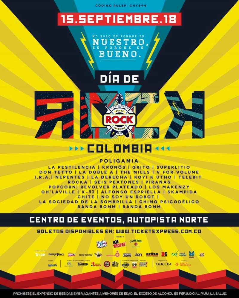 DiaDelRockColombiabandas